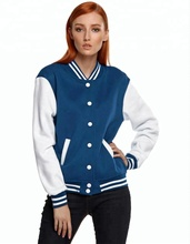 Varsity Letterman Jacket High Quality Genuine Leather Top quality Wool Body/Baseball jacket