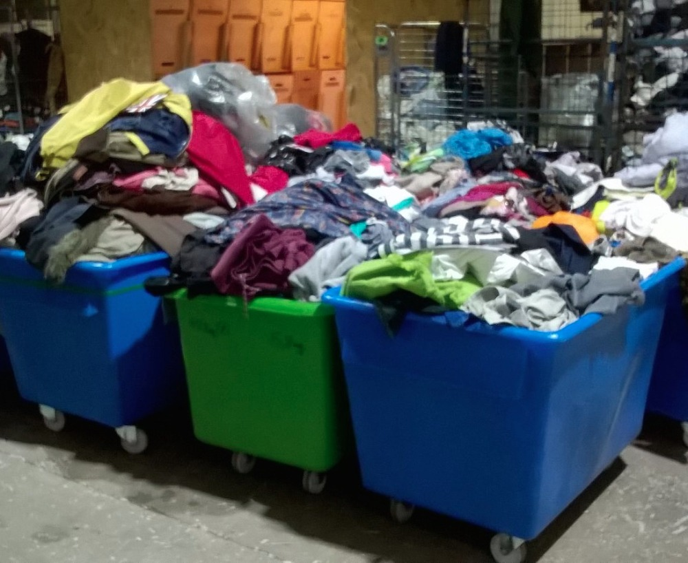 45kg bale second hand used clothing for Pakistan market brick-a-brack, shoes