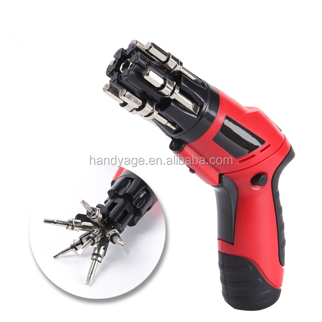 [Handy-Age]-6-in-1 Quick Switch Cordless Screwdriver (ET0200-002)