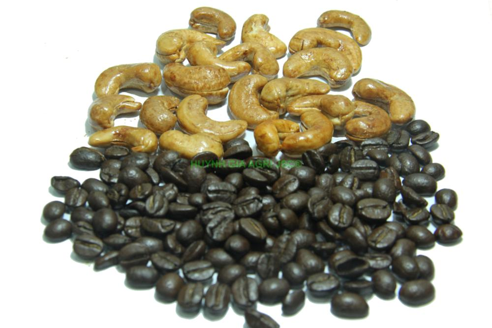 RAW ROASTED CASHEW NUTS COFFEE FLAVOR