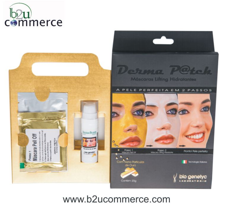 Derma Patch Facial Golden Mask - Peeling and Lifting