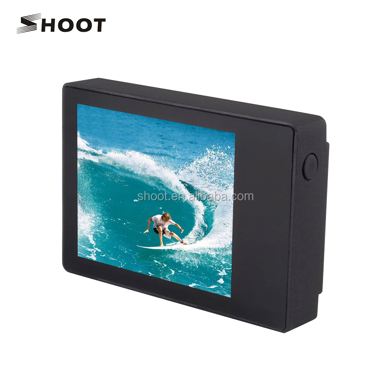 2.0'' LCD for BacPac External Display screen with Backdoor Case cover for GoPro accessories