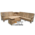 Living Rool All In Solid Wood frame Sofa Chair Set With Good Price