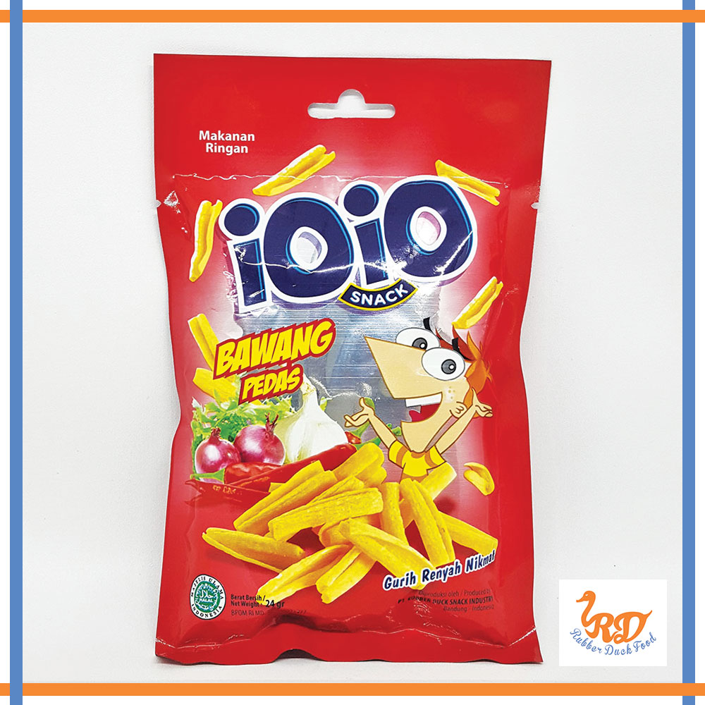 Hot Spicy Snack with Onion Taste Ioio
