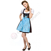3pcs Traditional German Dirndls Bavarian Ladies Oktoberfest Dirndl Dress