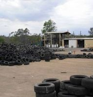 2017 waste Recycled Tire Rubber Scrap for sale
