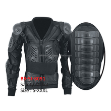Motorcycle Padded High Class Protector Body Armored Jacket