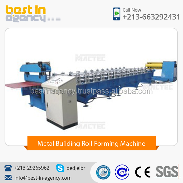 High Quality Corrugated Roof Sheet Roll Forming Machine