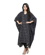 Printed Free Size Casual Wear Kaftan / Ladies Party Wear Dresses 2017 / Daily Wear Dresses 2017 (kaftans 2017)