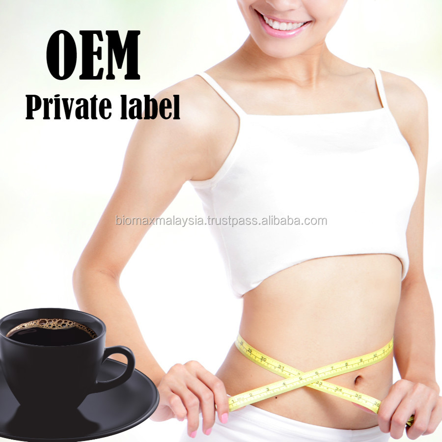 OEM Slimming detox Coffee Private Label Weight Loss Recipe 3 in 1 coffee