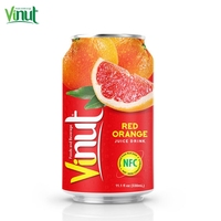 330ml VINUT Canned Orange Juice Press Original LESS CALORIES regulate high blood pressure Supplier