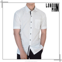 High Quality Man White Business Shirt Formal Shirt
