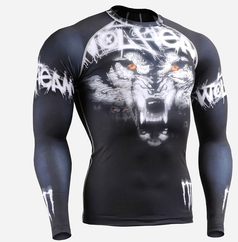 Wholesale Top Selling High Quality Custom Rash Guard