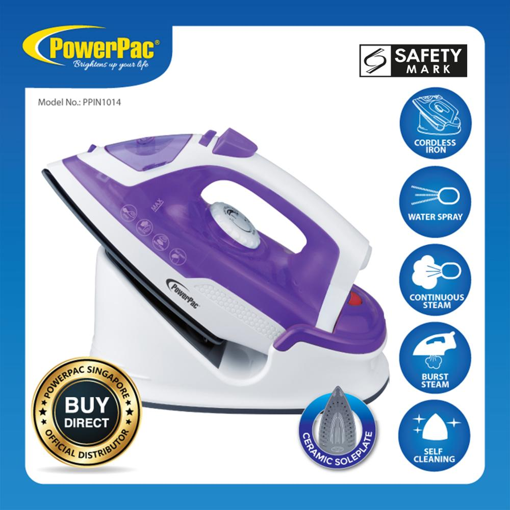 PowerPac Cordless Steam <strong>Iron</strong>, (PPIN1014) Stocks Appliances (Available Stocks)