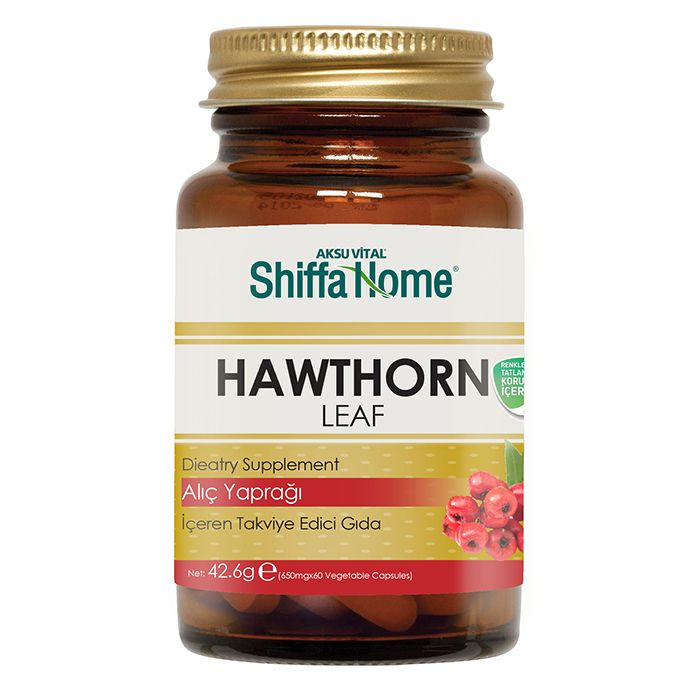 Hawthorn Leaf Extract Capsule Dietary Supplements Crataegus Tablets