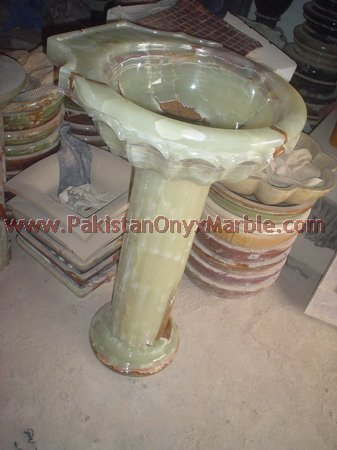 TOP QUALITY ONYX PEDESTALS SINKS AND BASINS