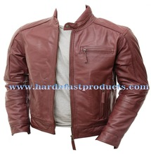 man leather jacket 100% sheep men leather jackets winter