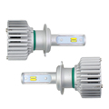 H7 LED headlight bulbs Single beam All-in-one conversion kit 80w 8000lm 6500k/4300k/3000k