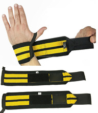 Wrist Wraps (1 Pair/2 Wraps) for Weightlifting/Crossfit/Powerlifting/Bodybuilding - For Women & Men - Premium Quality Equipment