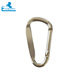 D-Ring Aluminum Non Locking Carabiner Hook Clip Keychain