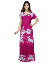 indian womens Design Cotton nighty