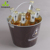 5 QT metal corona beer bottle ice bucket/cooler box holder