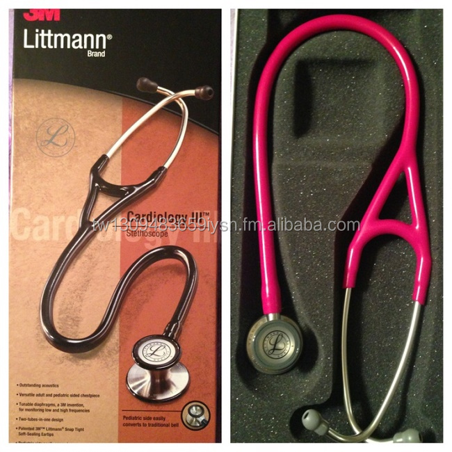 "3M Littmann 2122 Stethoscope Classic II 27"" 28"" Pediatric Red Raspberry Chocolate Edition - Pack 1 (All Colors)ack"