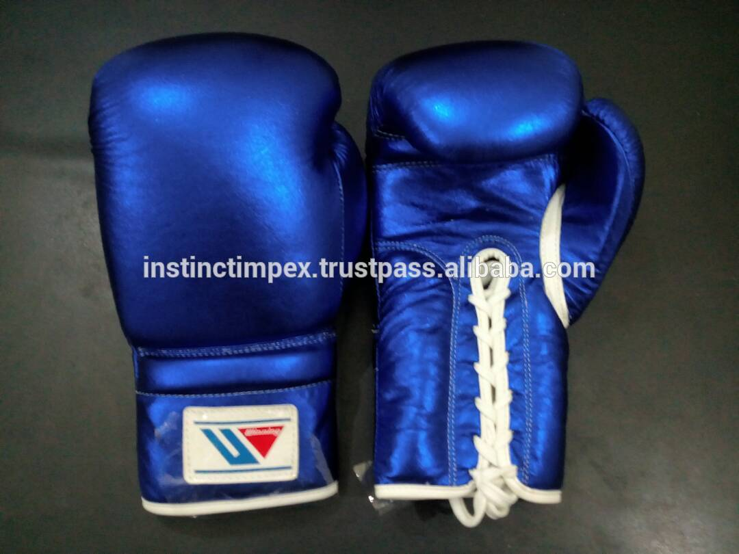 2019 New Professional Winning Boxing Gloves Gear Leather Set Winning Boxing Gloves