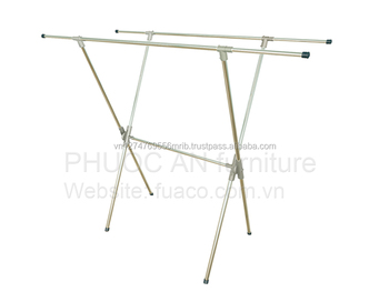 Stainless steel clothes hanger stand for sale