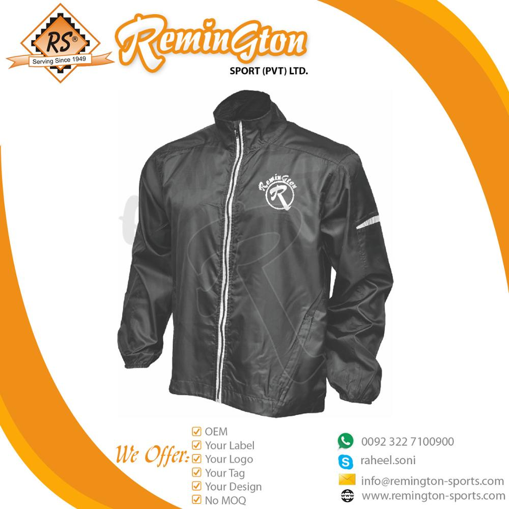 custom Rain Jacket Waterproof Jacket Polyester Unisex Windbreaker Jacket