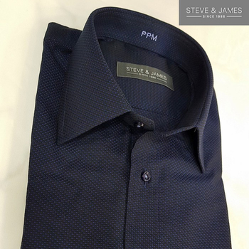 New design long sleeve Made to measure shirts for men from Steve & James