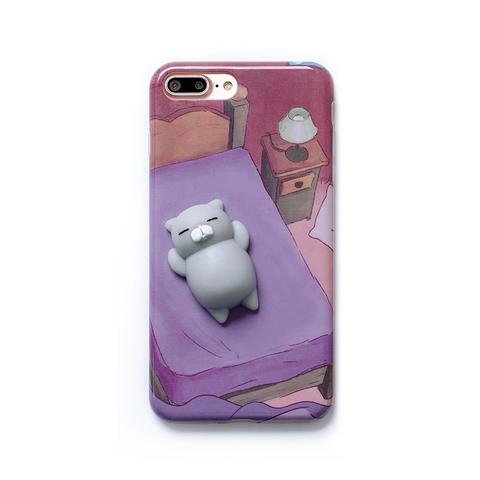 Squishy Phone Case, Squishy Cat Phone Case