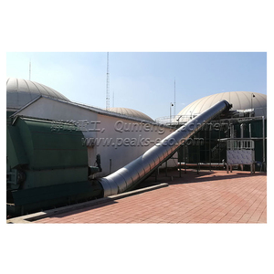 Standard Quality Municipal Solid Waste Recycling Biogas Plant