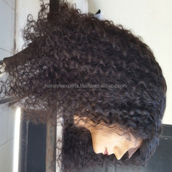 full lace Curly wigs