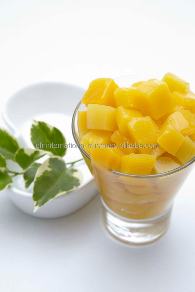 Thailand Fruits (Canned MANGO DICE) in syrup in 15 oz good quality