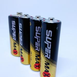 Dry cell battery R6C/AA Size Zinc Carbon 1.5V Super Extra Heavy Duty