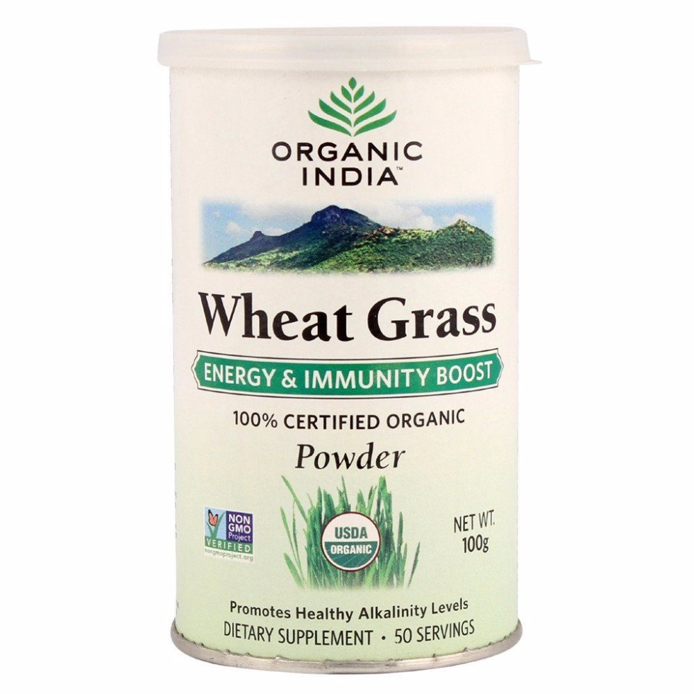 Organic India Wheat Grass dietary supplement
