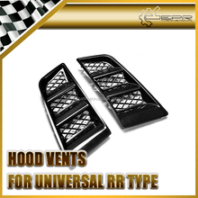 EPR Car Body Kit Universal Carbon Fiber Hood Vents (RR Type)