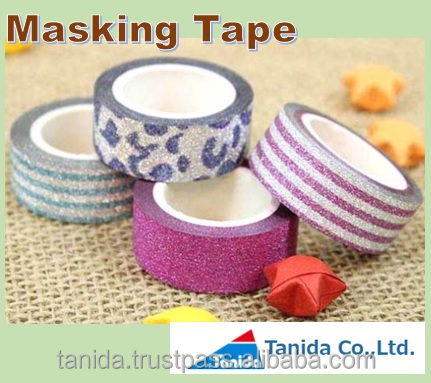 Popular and Best-selling decorative ribbon Masking Tape for Various , OEM available