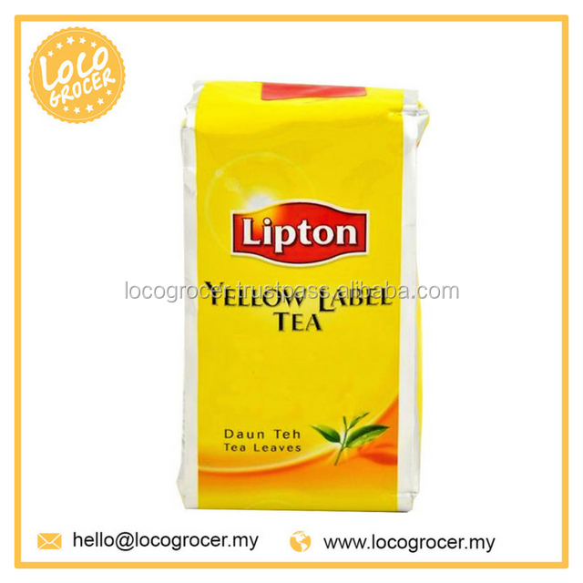 Lipton Yellow Label Packet Tea Leaves 6X12X200G Wholesale