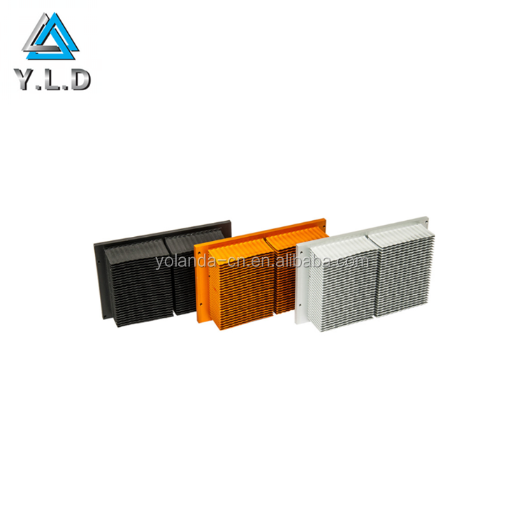Custom Aluminum Profiles Deep Processing Color Anodized Non-standard Heatsink