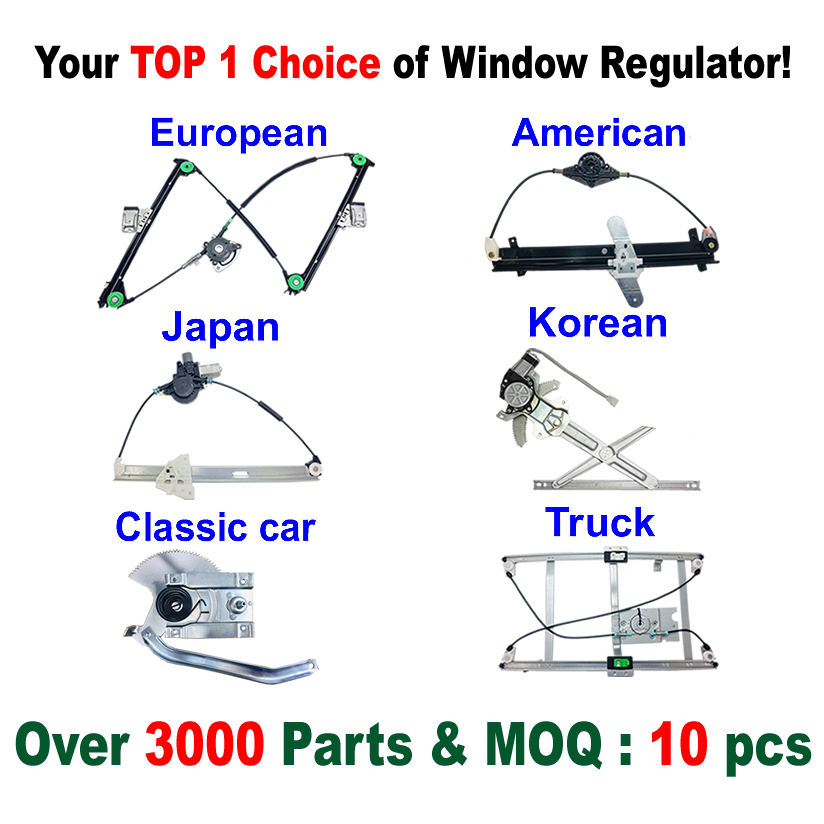 JMFD-WR142 Window Regulator for FORD FOCUS <strong>11</strong>- Rear Right <strong>w</strong>/o motor BM51-A27000BA 5118330