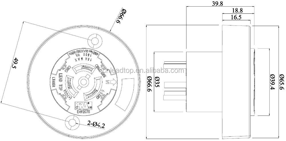 ulrotatable nema socket photo control receptacle photocontrol switch socket lighting sensor