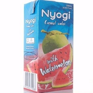 Nyogi Coconut Water with Watermelon is Tetra Brik 250 ml