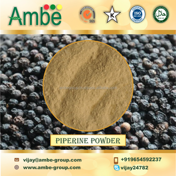 high quality Piperine Powder 95%