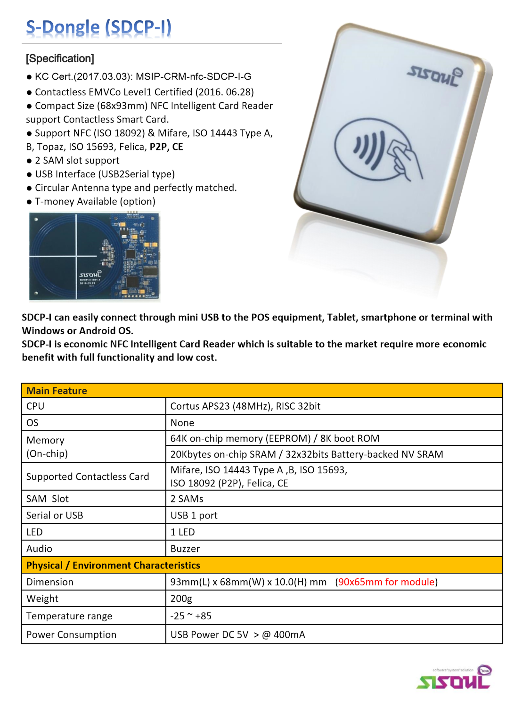 Best Quality Access Control Systems NFC module
