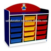 15 Trays Manipulatives Storage unit kids toy furniture children cabinet kindergarten Malaysia