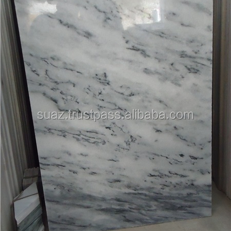 "Sunny Grey Marble Slabs & Tiles, Pakistan Grey Marble , 1x2"" Basketweave Polished Sunny Gray Marble Wall and Flooring Tiles"