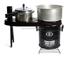 Biomass Pellets Stove Wood Stove Smokeless Stove from India