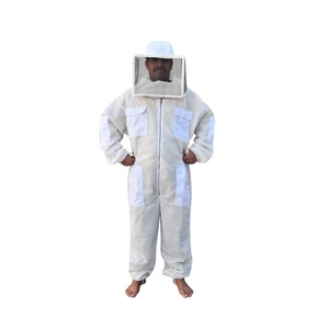 Square Veil Ventilated Safety Beekeeping Suit